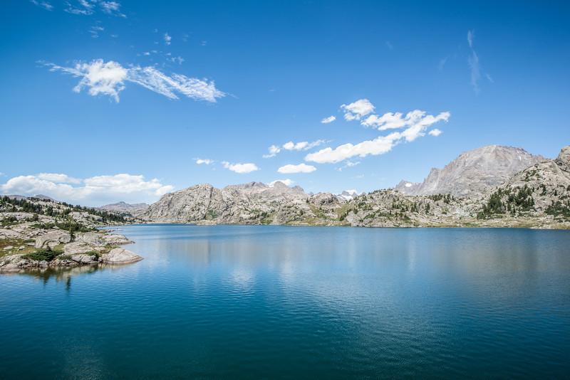 The beautiful Island Lake!
