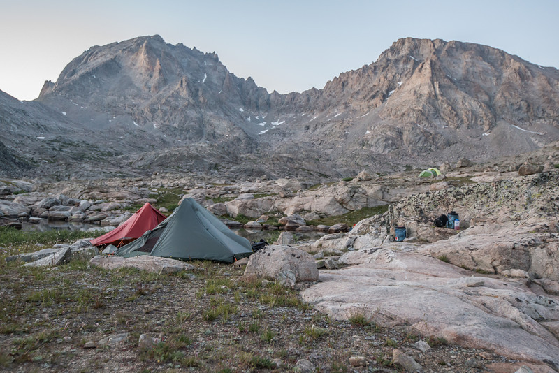 Our camp in Indian Basin.