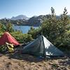 Our campsite at Seneca Lake.