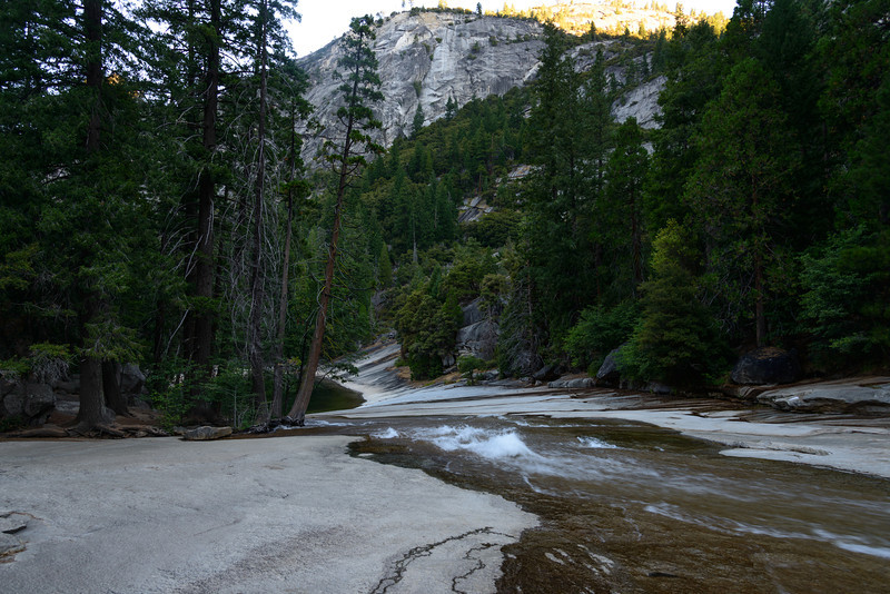 Following the river up to Nevada Falls I turned to look back.
