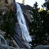 Closer view of Nevada Falls. Not as much water as I would have liked but beautiful none the less.