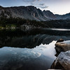 Purple Lake at sunrise
