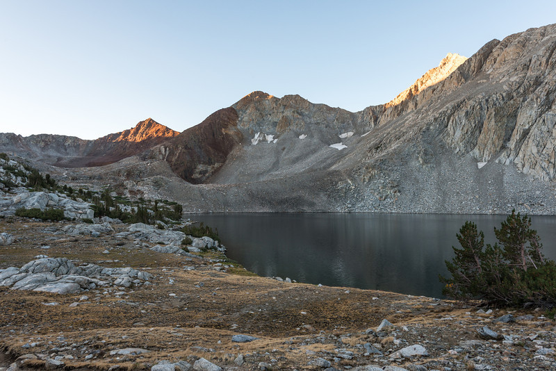 The next morning I was on the trail before 7am heading for Pinchot Pass.
