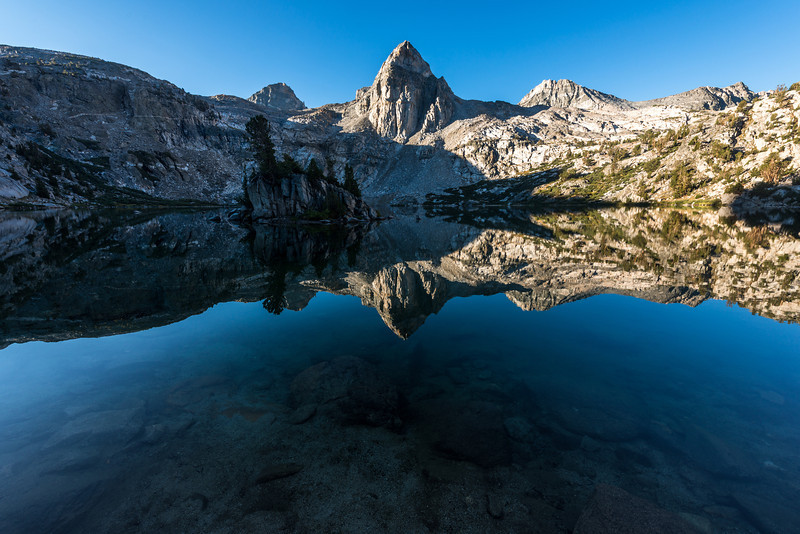 The crystal clear waters of the Rae Lakes helped to set this image apart from the rest.