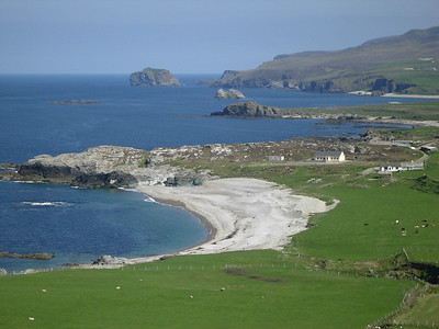 View of Malin Head in Donegal on the Wild Atlantic Way Route