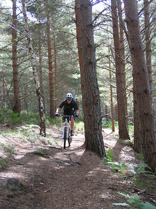 Day 2 - the coast to coast route across the Cairngorms kicks-off with some lovely singletrack on the way to Ballater.