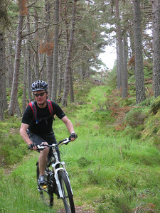 Geoff on the same trail.