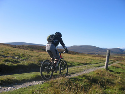 Day 3 - Heading west through the Cairngorms.