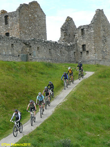 Day3 - the troops leaving Ruthven Barracks.