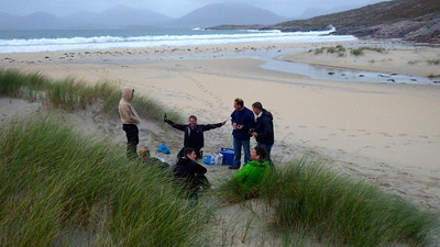 Luskentyre beach - superb even on a bad weather day.