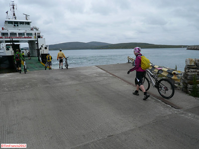 Made it! - ferry No2, Day 2.