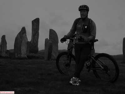 And this is where the adventure of day 4 finishes, Callanais Standing Stones, Lewis.