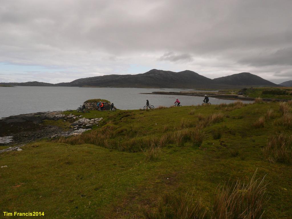 d1 Lochmaddy - warm up ride