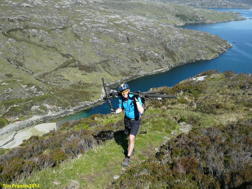 d4 The Reinigeadal Trail.