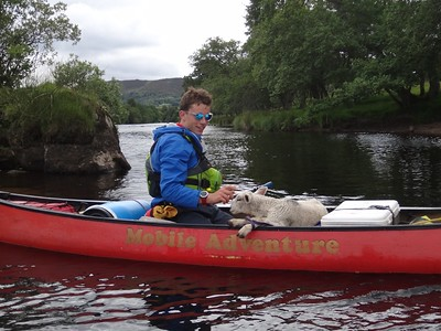 01/07 - 04/07 2016 River Spey Descent - Guided by Biscuit