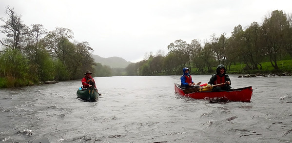 River Spey Open Canoeing May 14 RT