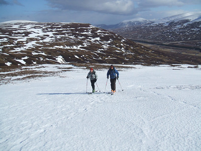 Skinning up Geal Charn