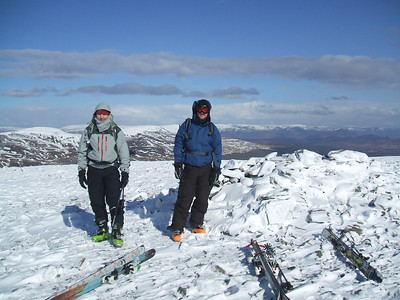 Geal Charn summit