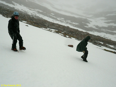 Getting to use the iron wear, Coire Leis, TNF, Ben Nevis.