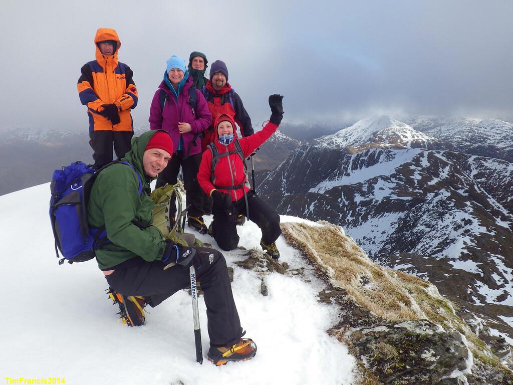 The final fine summit above Coire Dhorrcail, Ladhar Bheinn.