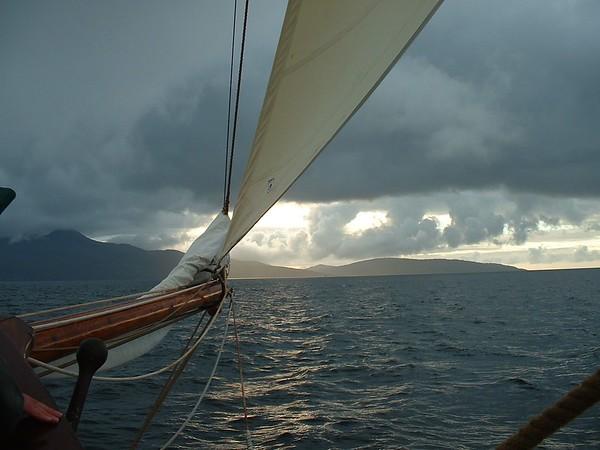 Sailing and Walking