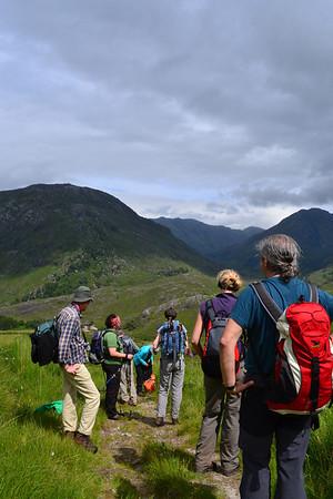 Heading over Mam Barisdale, from Loch Nevis to Loch Hourn