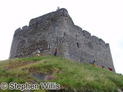 An assault on Castle Tioram!