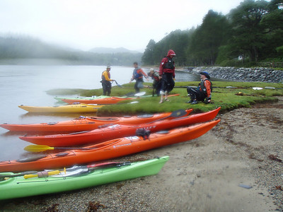 A wet start at Castle Tioram Day 2