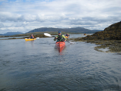 The outer islands at Arisaig provide some great little flows to play in