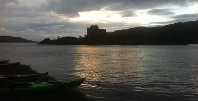Campsite overlooking Castle Tioram - KT