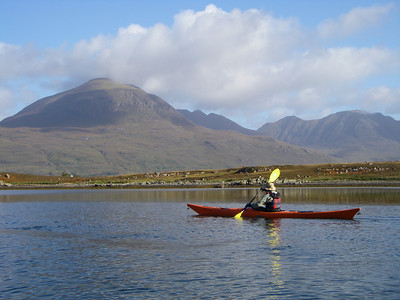 A lovely calm day on Upper Loch Torridon