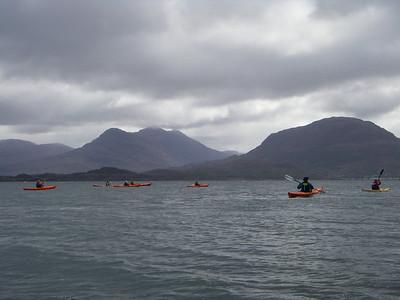 Loch Shieldaig with Torridon Hills beyond