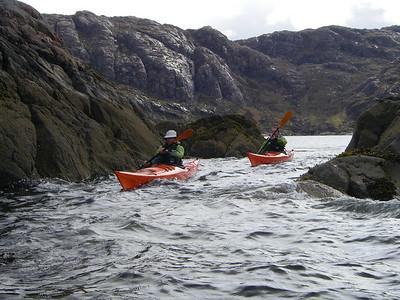 More fun in Loch Diabeg
