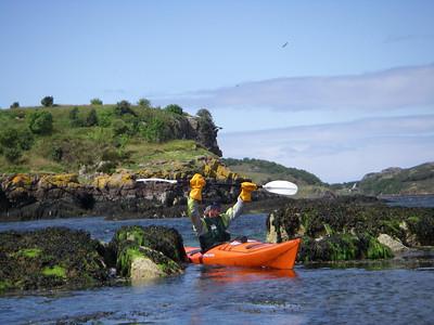 coming through on Loch Shieldaig