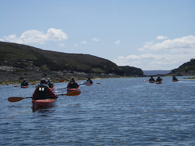 Entering the narrows on Crowlin Islands