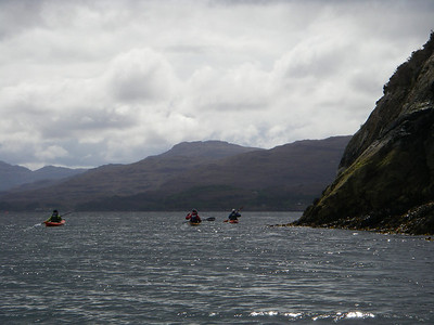 paddling on a sea of diamonds
