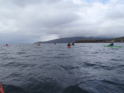 Great paddling even when the weather isn't great