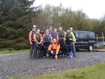 The gang Loch Maree