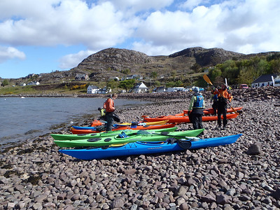 Start of day three Shore of Loch Shieldaig
