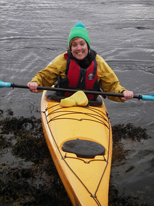 A happy paddler.