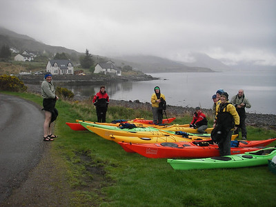 Day 2.  Launching on Upper Loch Torridon.