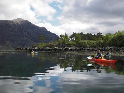 Reflections on Upper Loch Torridon