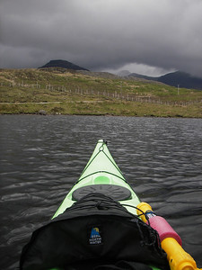 Day 3.  Fresh water Loch on the way home from Diabeg.