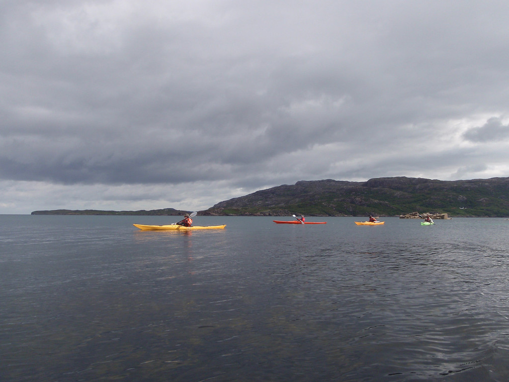 Leaving Loch Arnish for Inver