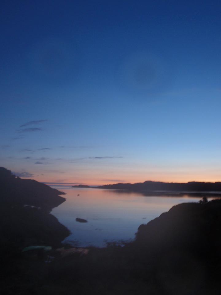 sunrise on the summer solstice