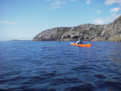 A lovely afternoon paddle from out of Loch Kercaig and around the Rubha na Breige peninsula...