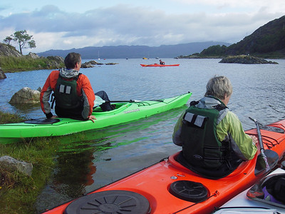 Final morning - launching from Glenuig bay