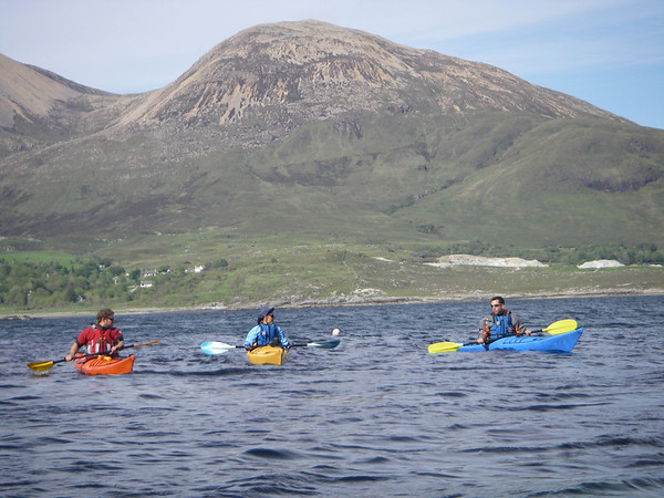 Skye Sea Kayak June 09