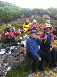 Lunch, Loch Sunart, day 2