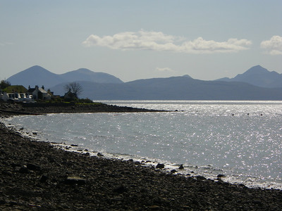 Applecross in the afternoon sun